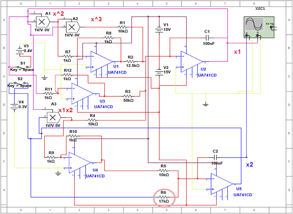 Circuit Design and Experimental Investigations for a